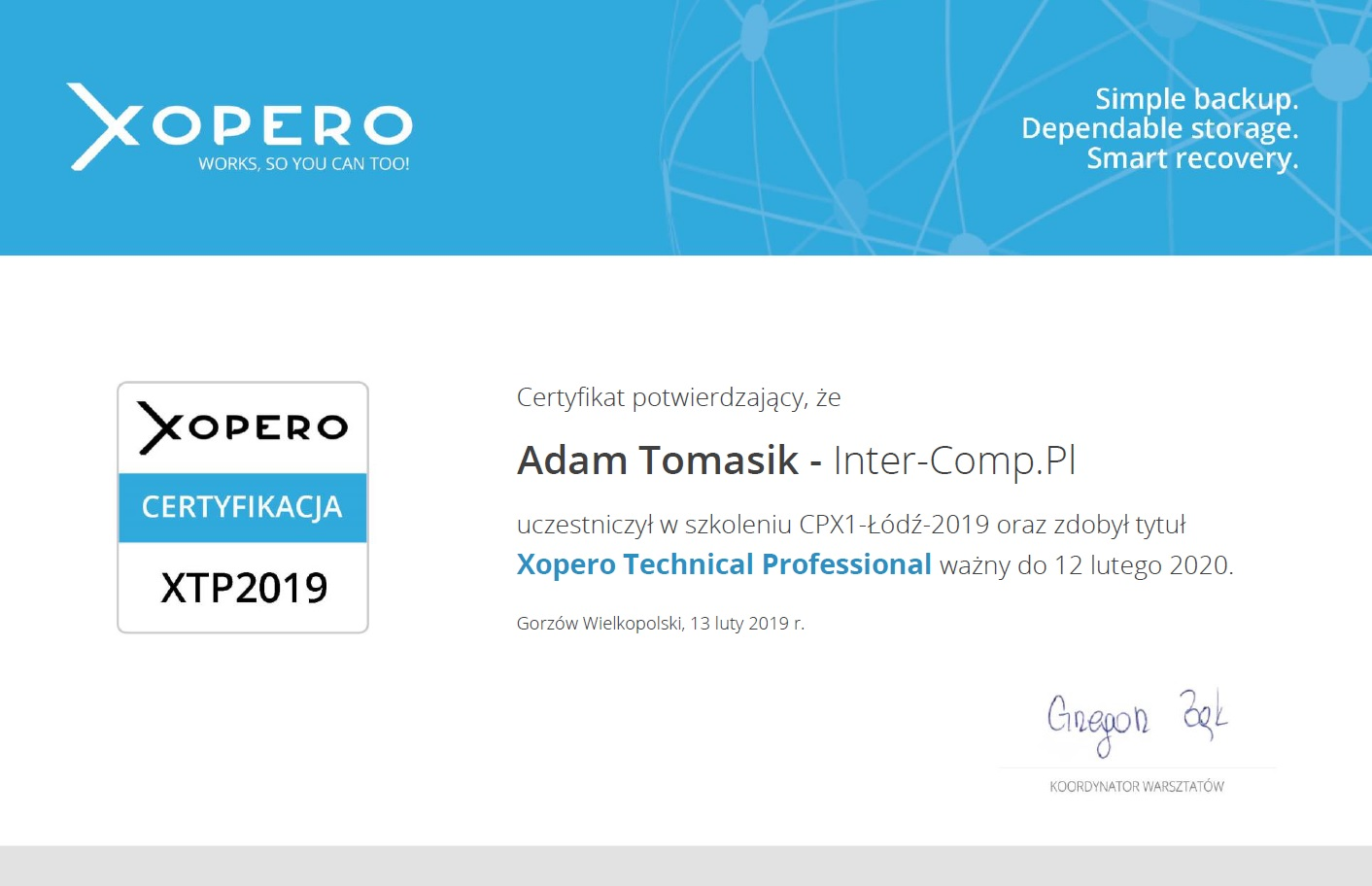 Xopero Technical Professional