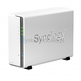 Synology DS119j (1 HDD, RAM 256MB, Marvell A3720)